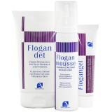 Очищающий гель для чувствительной или поврежденной кожи FLOGAN DET